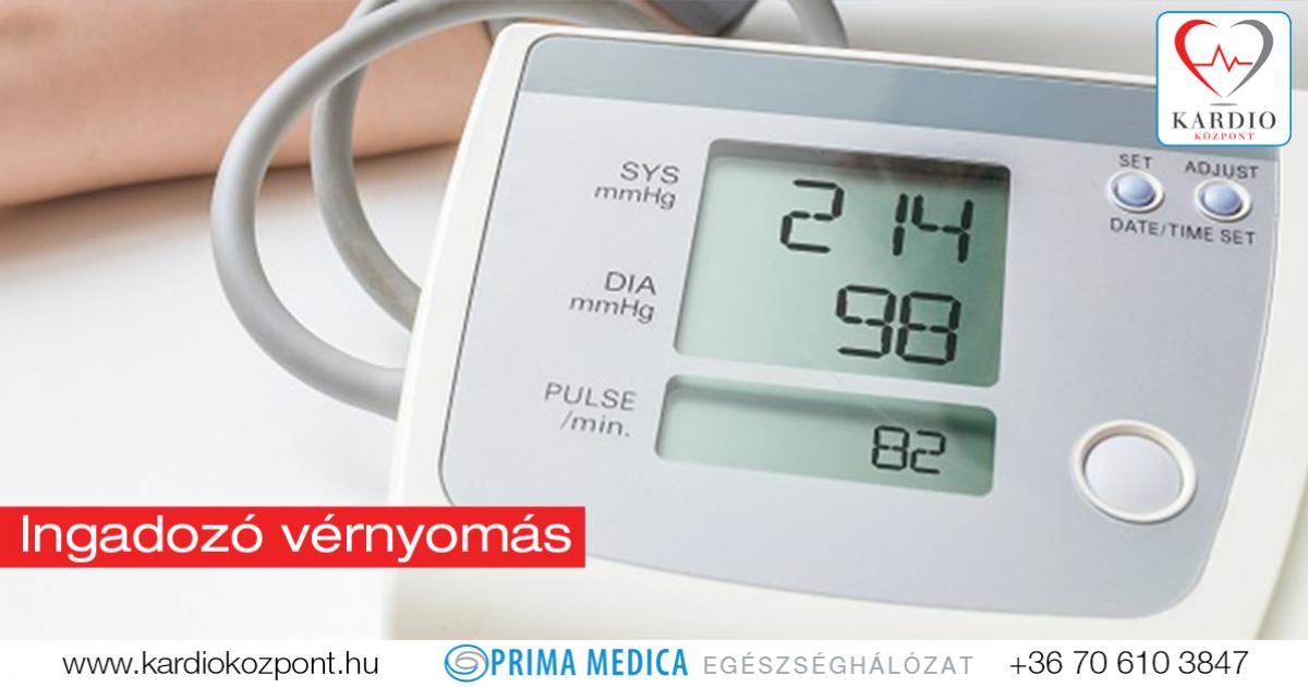hogyan lehet ellenőrizni, hogy van-e magas vérnyomás hipodinámia magas vérnyomás