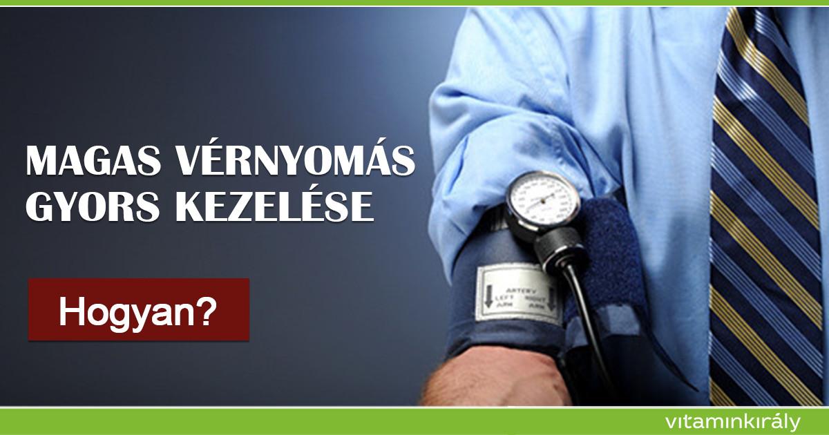 ecetkezelés magas vérnyomás esetén