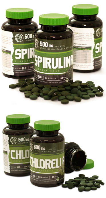 Mannavita Spirulina + Chlorella Magas vérnyomás ellen