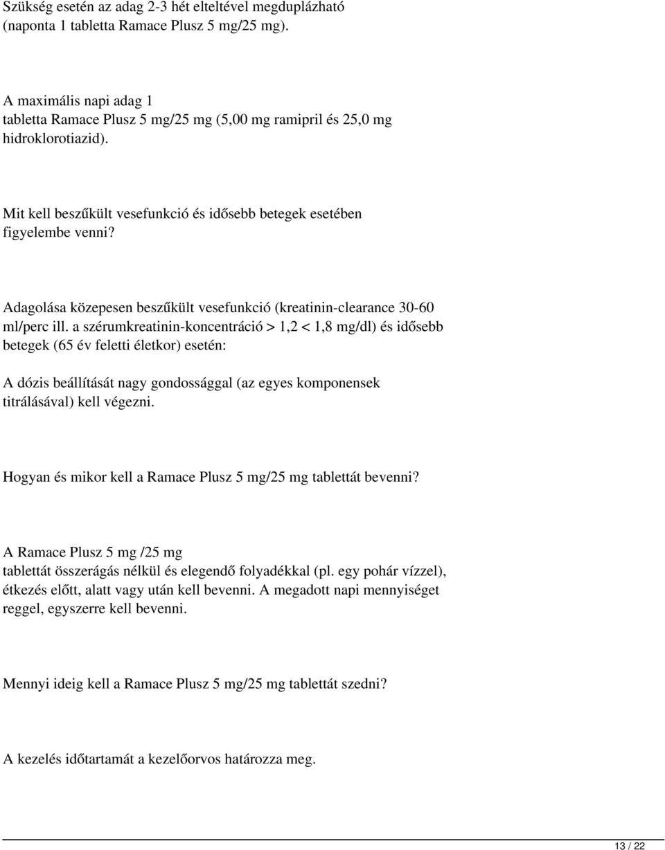 BERLIPRIL 10 mg tabletta