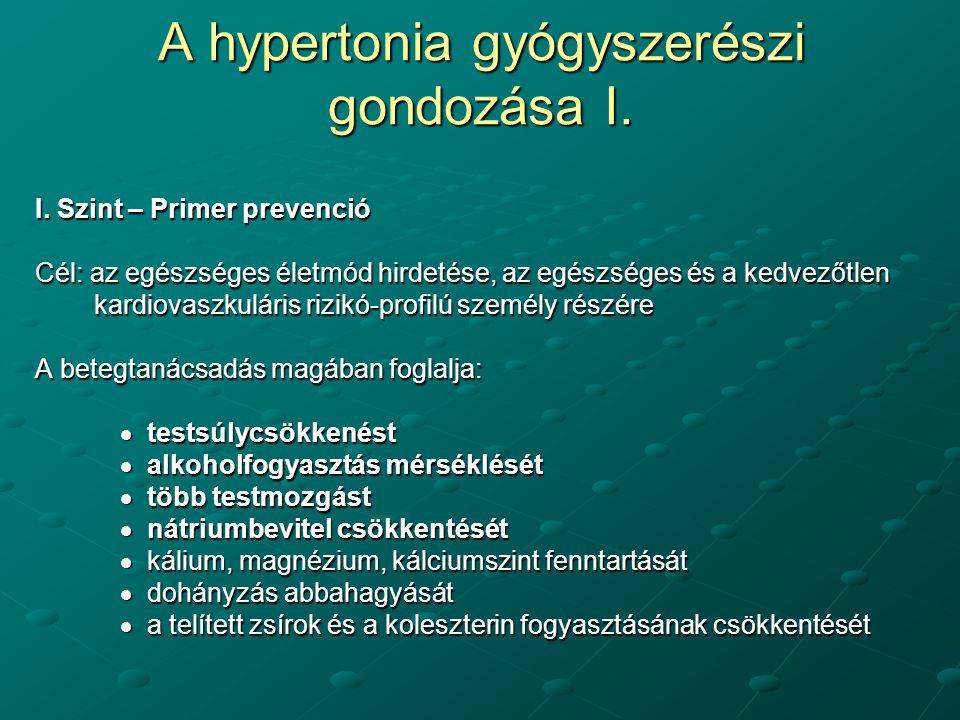 a mechanikus hipertónia okai táplálkozás magas vérnyomással