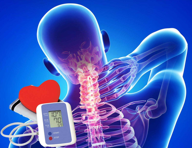 torna hipertónia és osteochondrosis esetén