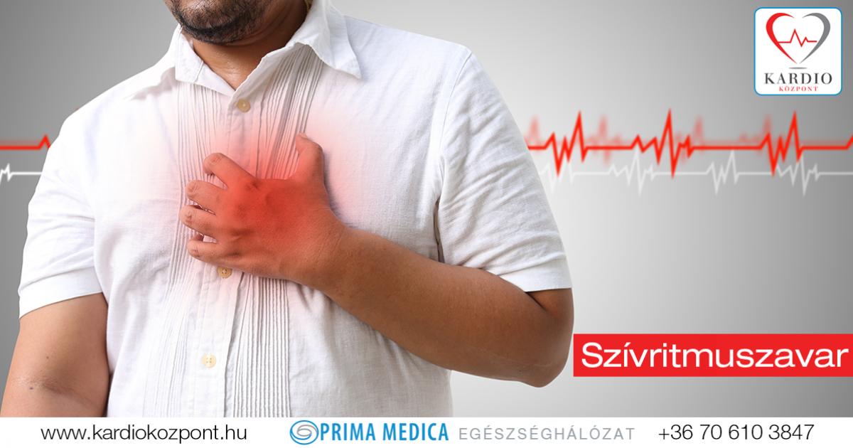 szívritmuszavar magas vérnyomással, mint veszélyes