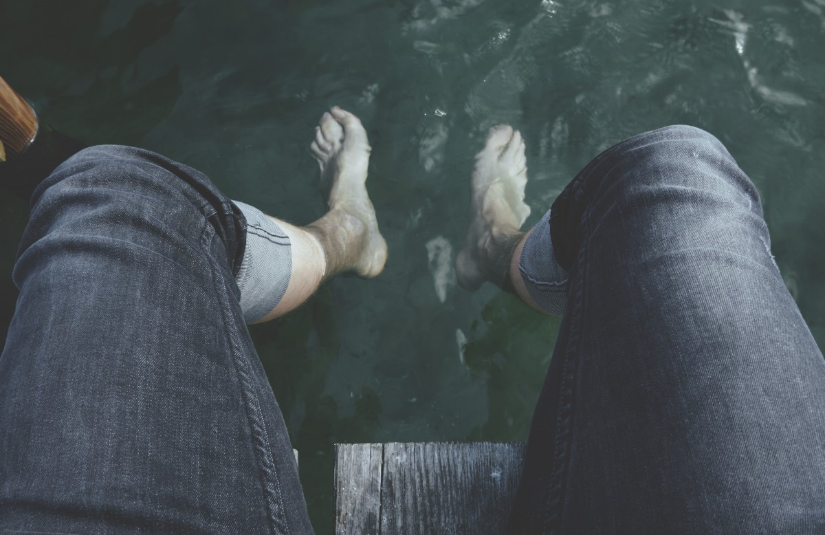 hideg vízzel és magas vérnyomással öntött