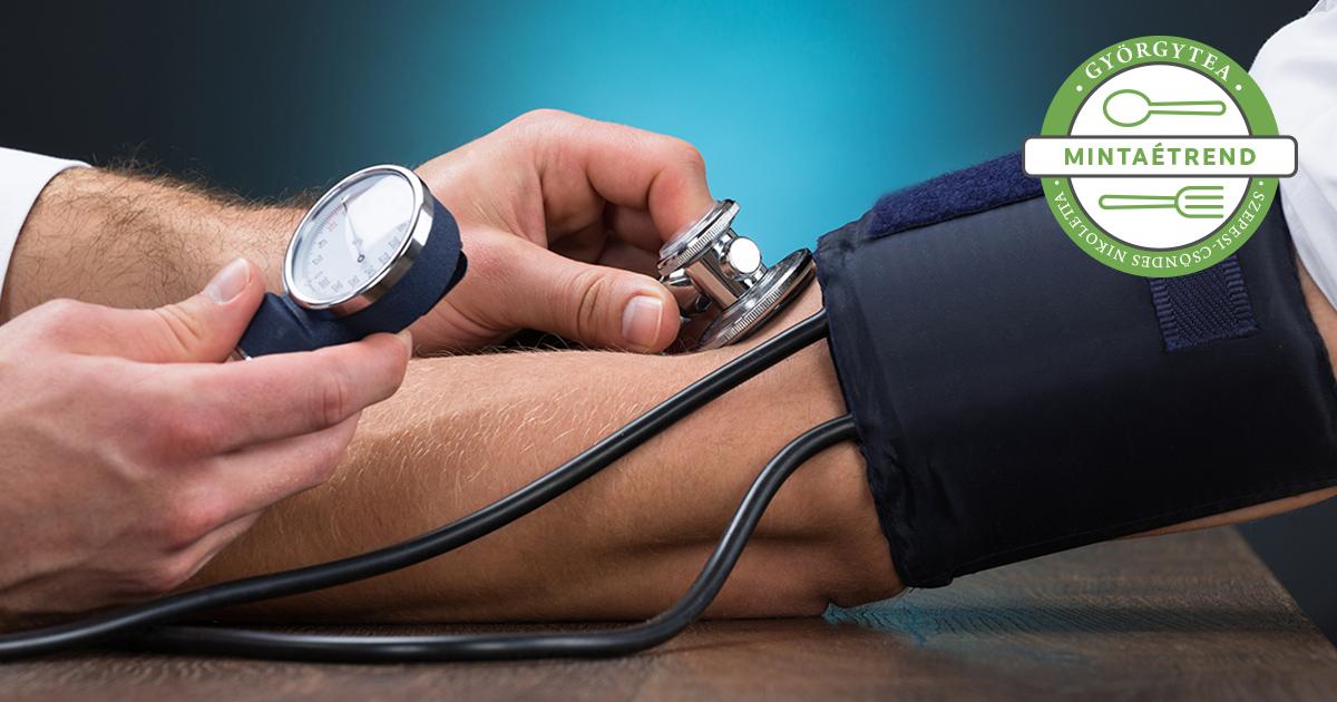 táplálék magas vérnyomás, szív- és érrendszeri betegségek esetén