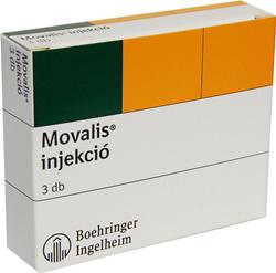MOVALIS 15 mg/1,5 ml oldatos injekcio | PHARMINDEX Online